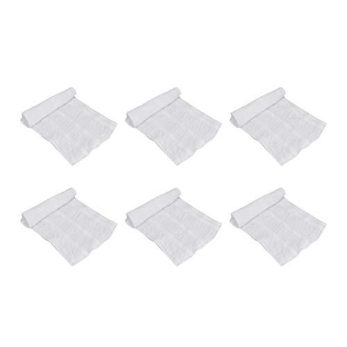 Artibetter Fix Wiederverwendbare Netzhose 6 Stück Waschbare Netzhose Atmungsaktive Inkontinenz-Pads Slips für Frau Mann S