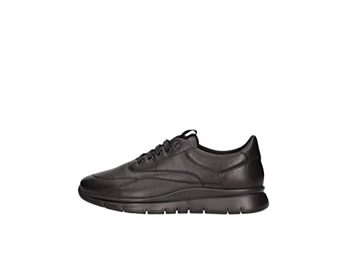 Frau Sneakers, Sneaker Uomo, Nero (Nero Nero), 42 EU