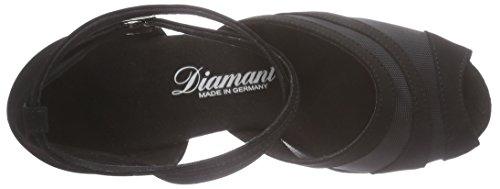 Diamant Damen Latein Tanzschuhe Standard & Latein, Latino Absatz 5cm, Schwarz 102-064-040 - 6