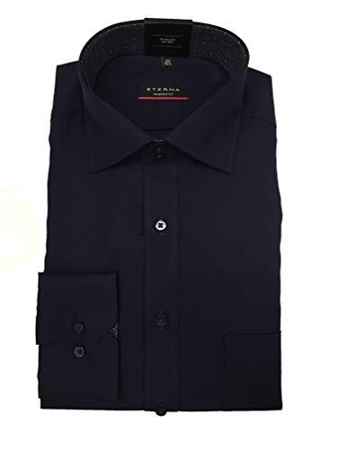 Eterna - Camisa sin Planchar, Art. 1303, Color 19, Azul Oscuro