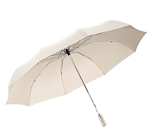 E/A Compacto Y Fácil De Abrir Automáticamente, Paraguas Plegable De Gran Tamaño, Paraguas A Prueba De Viento Y Antideslizante con Luz De Luz Fuerte, Paraguas-marrilla Anti-Ultravioleta