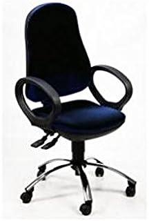Ergosit silla operativa Ariel Negro C/bracc.
