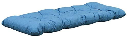 Ambientehome Made in Europe Cuscino per mobili da Giardino, Blu/Grigio, 1 unità (Confezione da 1)