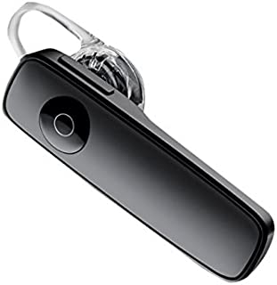 Plantronics M165 Marque 2 Ultralight Wireless Bluetooth Headset - Compatible with iPhone, Android, and Other Leading Smartphones - Black
