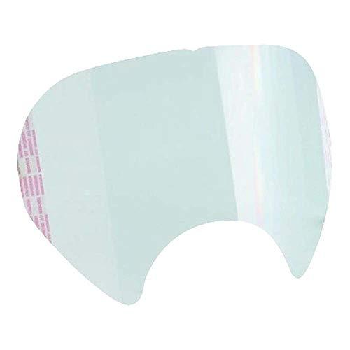 3M Protector de pantalla desplegable para máscara completa S6000 (25 protectores/caja), 25 Unidades, 6885 🔥