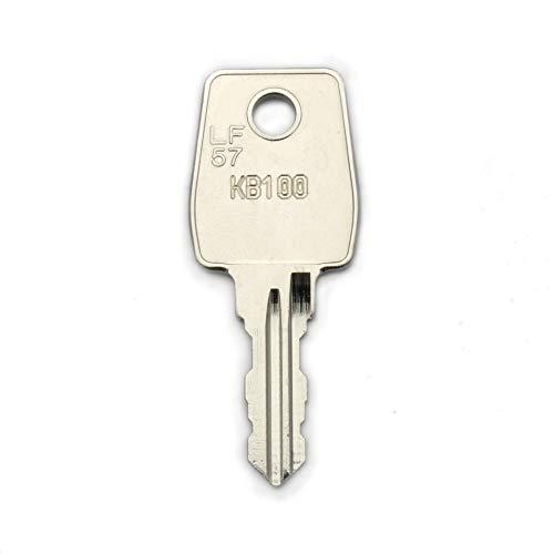 Knobloch Ersatzschlüssel KB - Schließung KB1 bis KB500 - Nachschlüssel - Zusatzschlüssel - für Knobloch Briefkästen und Briefkastenanlagen - nachträglicher Schlüssel für Knobloch Briefkästen
