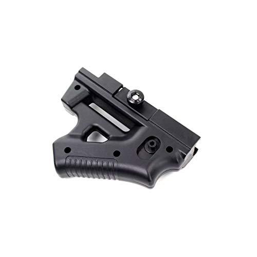XiZiMi Accesorios para Pistolas de Juguete Esquina táctica Dedo apretón de Manos Frontal Pistola de Agua Pistola de Nylon Agarre Thumb Grip