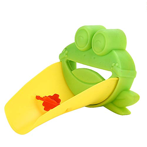DBSUFV Extensor de Grifo Flexible Creativo Extensión de la manija del Fregadero Niño pequeño Baño de plástico Niños Ayudante de Lavado de Manos