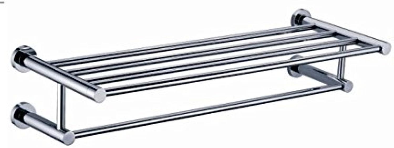 MangeooVolle Kupfer doppel Badetuch Rahmen zur Stabilisierung Badezimmer Handtuchhalter