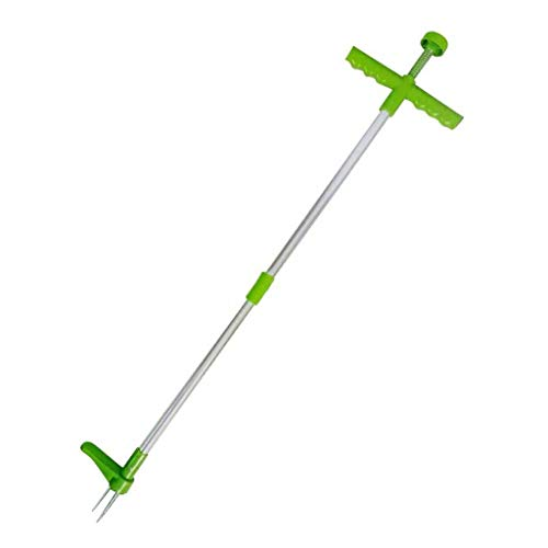 Fantastic Deal! Stand Up Weeder and Weed Puller, Stand up Manual Weeder Hand Tool, Stainless Steel a...
