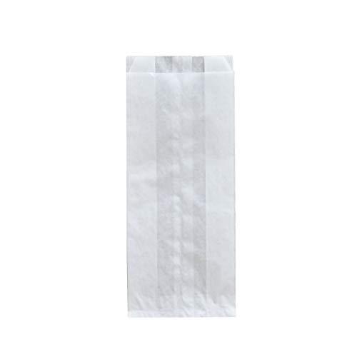 Pack&Cup Bäckerbeutel, Faltenbeutel ohne Fenster White 1155 ml 1000 Stück