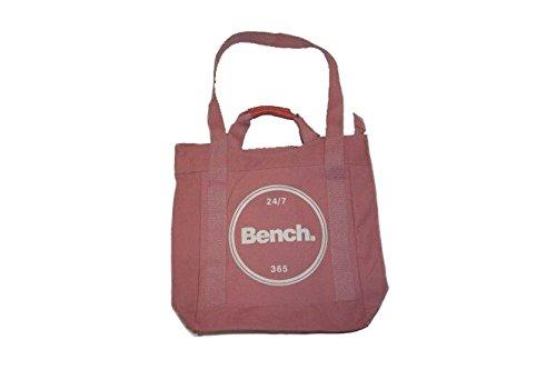 Bench Damen Shopper Schultertasche, Light Pink, 32 x 12 x 40 cm