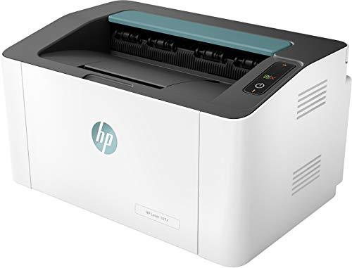HP Laser 107r - Impresora láser Monocromo ultracompacta (20 ppm, 1200 x 1200 PPP, Capacidad de alimentación de 150 Hojas, USB)