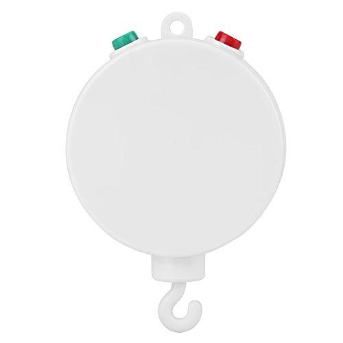 Elektrische Baby Spieluhr, Baby Musical Krippe Handys Spielzeug Baby Bett Glocke Elektrische Spieluhr mit 12 stücke Süße Melodien