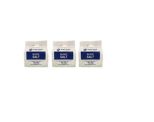 Bloques de ablandador de agua salada (3 paquetes de 8kg) para ablandadores Harveys Twintec Kinetico y All Block Sal -