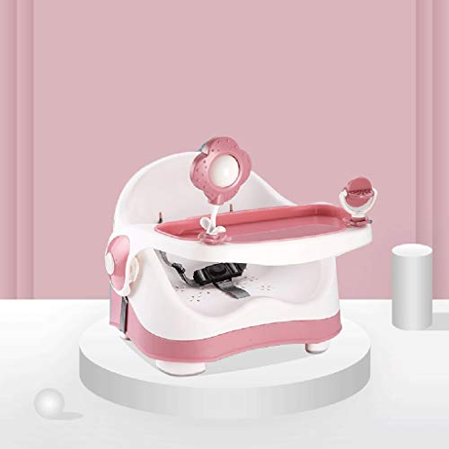 Rehausseur Sit 'n Style de Summer Infant, Chaise Haute Portable for Table, Chaise multifonctionnelle for bébé 2, siège bébé for Table (Color : Pink)