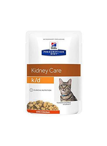 Hill's Feline K/D Salmon Comida para Gatos - 85 gr