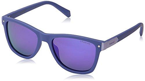 Polaroid Sunglasses Girls' PLD8025/S Rectangular Sunglasses, Green/Polarized Gray Multi Green, 48mm, 16mm