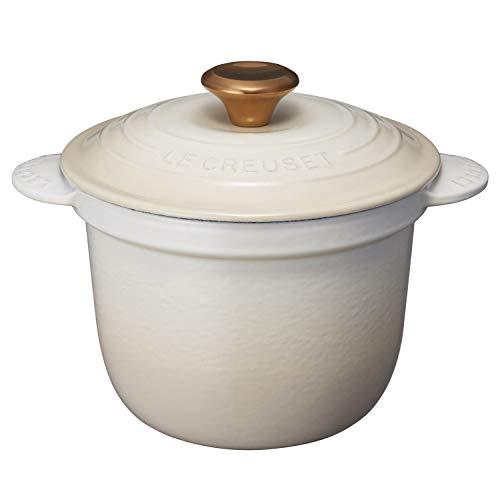 ル・クルーゼ(Le creuset) ココット・エブリィ メレンゲ 2L 鋳物ホーロー鍋、IH対応 21110-18-716