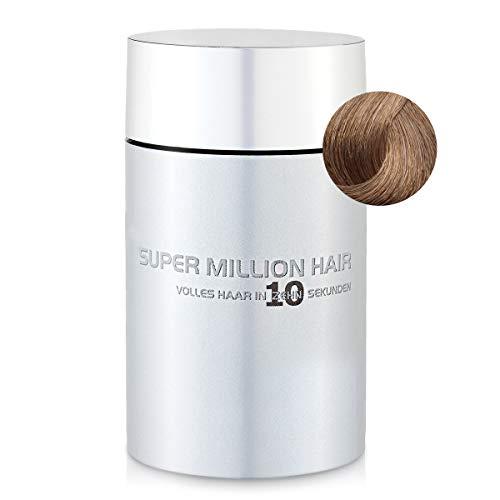 Super Million Hair Haar Fasern und Schütthaar, hochwertiges Streuhaar zur Haarverdichtung, 25 g, Dark-Blond (4)