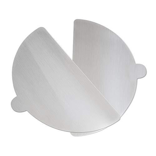SPICE - Juego de 2 palas para pizza de aluminio de 30 cm de diámetro para hornos de pizza Spice