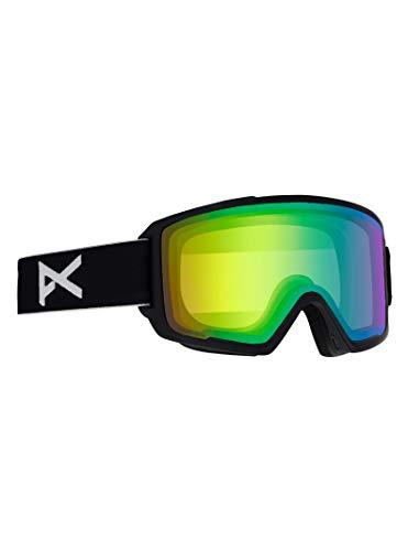 Anon(アノン) スノーボード スキー ゴーグル メンズ M2 GOGGLE ASIAN FIT WITH BONUS LENS 2019-20年モデル NAサイズ BLACK/SONAR GREEN 18556101040