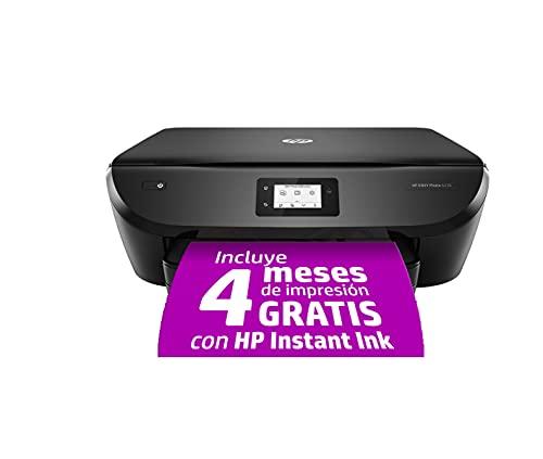 HP Envy Photo 6230 K7G25B, Impresora Multifunción Tinta A4, Color, Imprime, Escanea y Copia, Wi-Fi, USB 2.0, HP Smart App, Incluye 4 Meses del Servicio Instant Ink, Negra