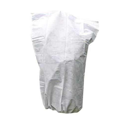 Nicexmas 60 * 110 cm Housse de protection pour plante Fleur Plante Jardin couvert de serre pour l'hiver (Blanc)