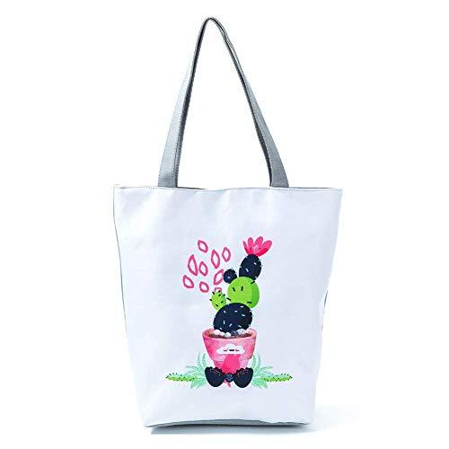 Flyever Strandtasche Personalisierte Panda Muster mit Reißverschluss für Damen Shopper Tasche Einkaufstasche Student Tasche