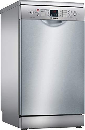 Bosch SPS46MI01E Serie 4 Geschirrspüler Freistehend / A+ / 45 cm / 158 kWh/Jahr / 10 MGD / SuperSilence / 7-Segment Display / Extra Trocknen / VarioSchublade