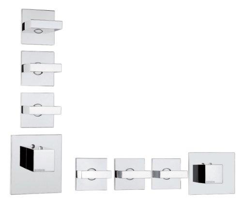 Mezcladores de ducha oculta Bossini Z033205 moderno grifo para baño y cocina