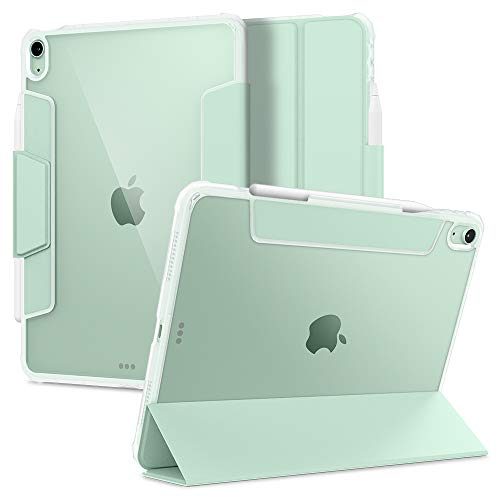 Spigen Ultra Hybrid Pro Designed for iPad Air 4 10.9 Case with Pencil Holder (2020) - Green