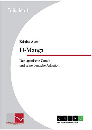 D-Manga. Der japanische Comic und seine deutsche Adaption