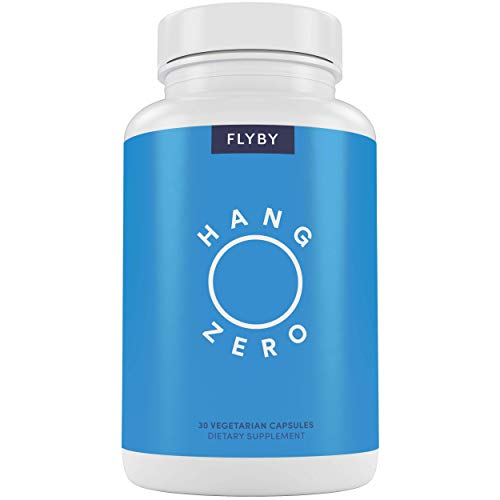 Hang Zero Recovery Pills for Rapid Hydration Aid (30 Capsules) - Electrolytes, Dihydromyricetin (DHM), N-Acetyl-Cysteine, Chlorophyll, Prickly Pear & Milk Thistle