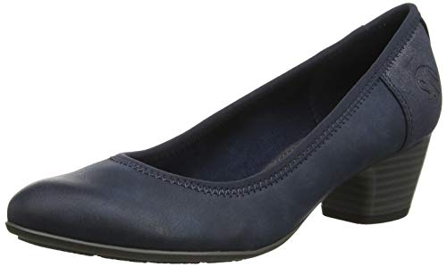 s.Oliver Damen 5-5-22301-23 Pumps, Blau (Navy 805), 38 EU