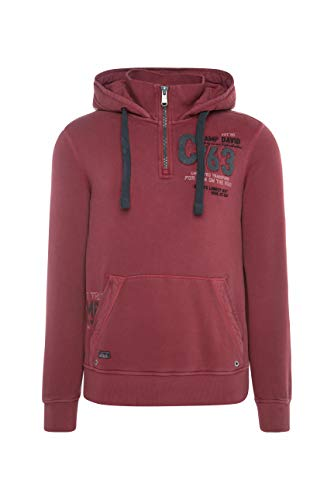 Camp David Herren Hoodie mit großem Back Artwork