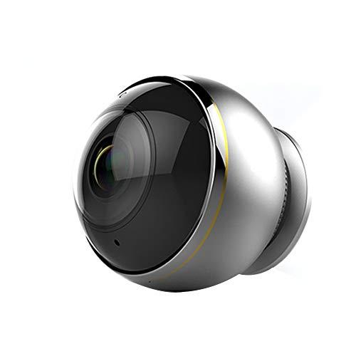 Surveillance cameras Drahtlose WLAN-Netzwerküberwachungskamera, 360-Grad-Panorama-Nachtsichtgerät Für Heimtelefone, Zwei-Wege-Audioeinstellungen, Infrarot-Nachtsicht Und Bewegungserkennung