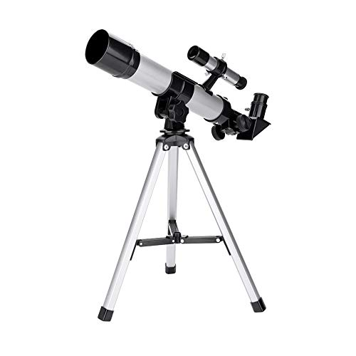 garsent Telescopio portátil, telescopio astronómico para niños 20X / 32X con trípode telescopio de Aprendizaje Educativo para niños Principiantes.