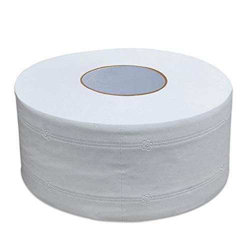1 rol Jumbo-rol toiletpapier van topkwaliteit 4-laags inheems hout zacht toiletpapier Pulp Home-vloeipapier Sterke wateropname