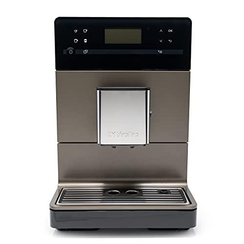 Miele CM5500 Super-Automatic One-Touch 10-Cup Countertop Coffee & Espresso Machine, Bronze Pearl