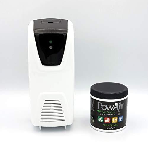 BIANCO Tecnologia ad ultrasuoni con illuminazione led a 7 colori per Camera da Letto Baby Room e Ufficio PowAir Misting Dome Umidificatore e Diffusore per ambienti di aromi agli Oli Essenziali