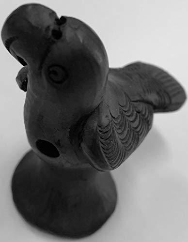 Black Clay wistle (Black Eagle) Pottery Handmade
