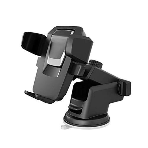 USNASLM Soporte universal para teléfono de coche giratorio de 360 grados, para IPhone12 fácil interruptor de un botón coche teléfono móvil soporte