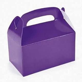 Fun Express Dozen Purple Treat Boxes