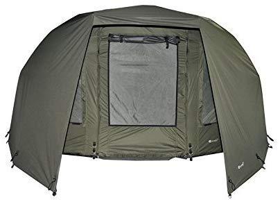 Carpline24 Skin für Angelzelt Block Bivvy I stabiler Zelt-Überwurf wind- u. wasserdicht 10.000mm Wassersäule I 4kg