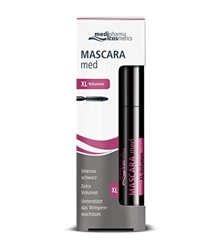 Medi Pharma, Mascara med Volumen, schwarz, 6 ml