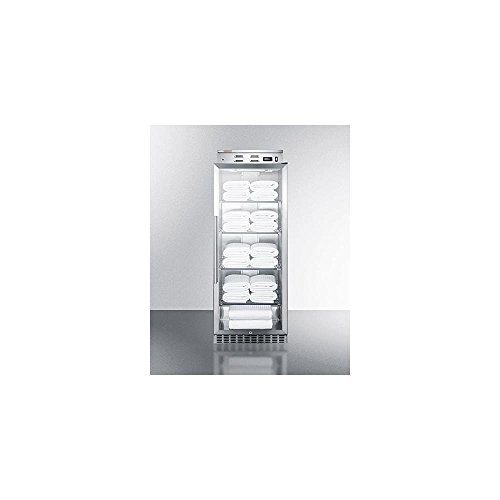 Summit n.a PHC115G Warming Cabinet, Glass/Stainless Steel