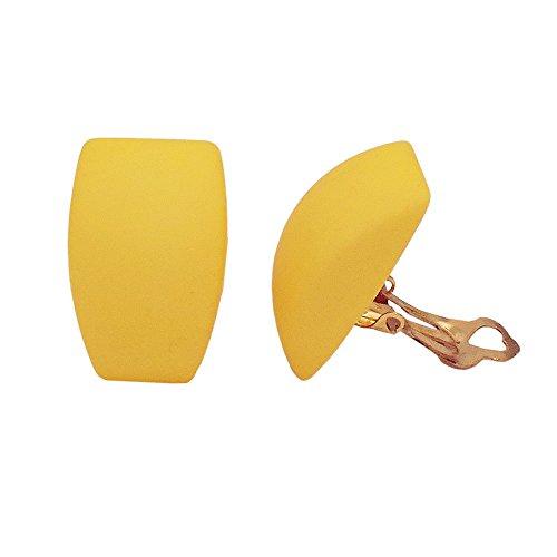 Clip trapezoidal amarillo-mate