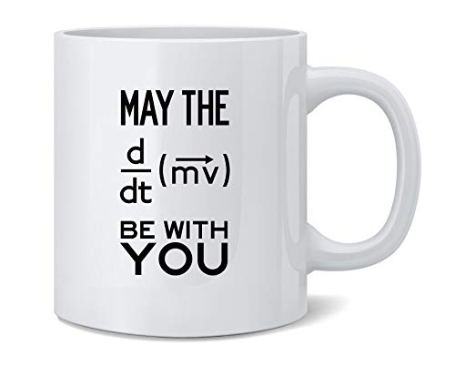 Poster Foundry May The Force Be with You Equation Ceramic Coffee Mug Tea Cup Fun Novelty Gift 12 oz