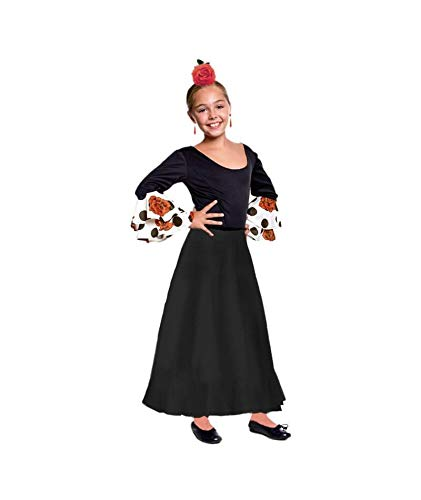 Falda Baile Flamenco Infantil 6 años